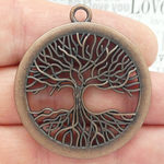 Tree of Life Pendant Bulk in Copper Pewter