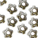 5 Ball 4.5-mm Spacer Beads in Antique Silver Pewter Beads 150 Pieces Per Package