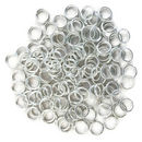 Silver Plated Open Jump Rings 8mm 16 Gauge Bulk pack of 200