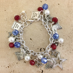 4th of July Charm Bracelet